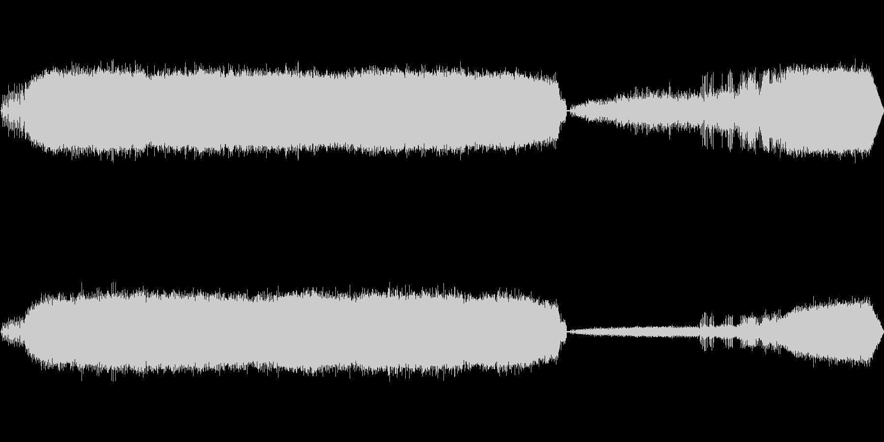 カエルの鳴き声-7の未再生の波形