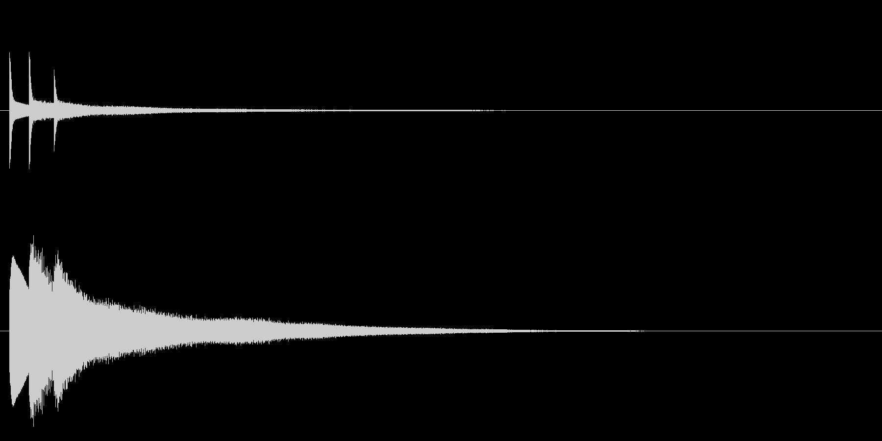 キラリーンの未再生の波形