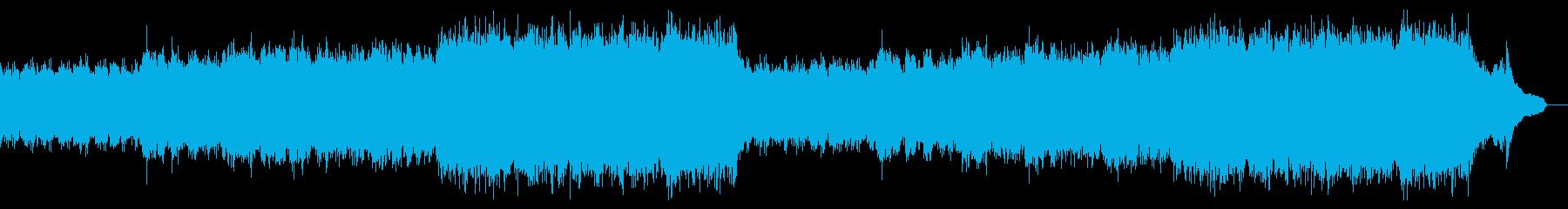 企業VP映像、103オーケストラ、爽快aの再生済みの波形