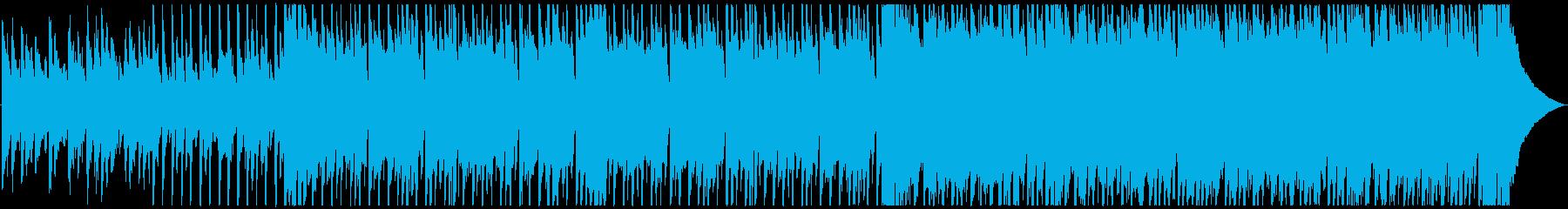 【ハーフサイズ】前向き・軽快ピアノポップの再生済みの波形
