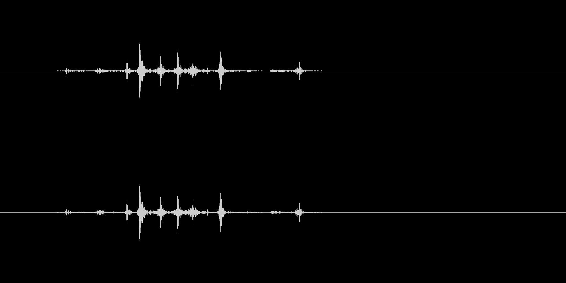 【本01-5(パラパラ)】の未再生の波形