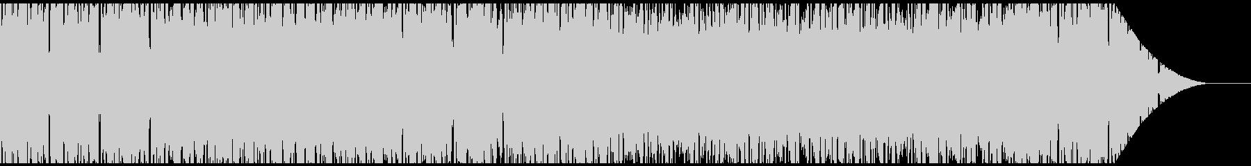 FPSゲームの待機中の画面BGMに合う曲の未再生の波形