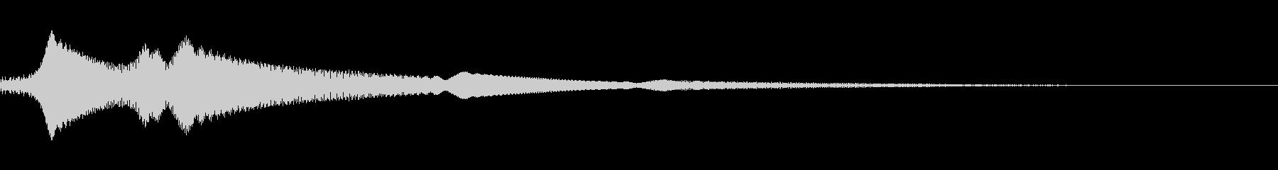 ピヨヨーンの未再生の波形