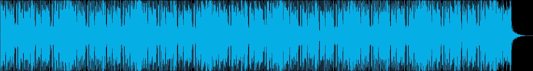 トラップ、ヒップホップ、テクノロジーの再生済みの波形