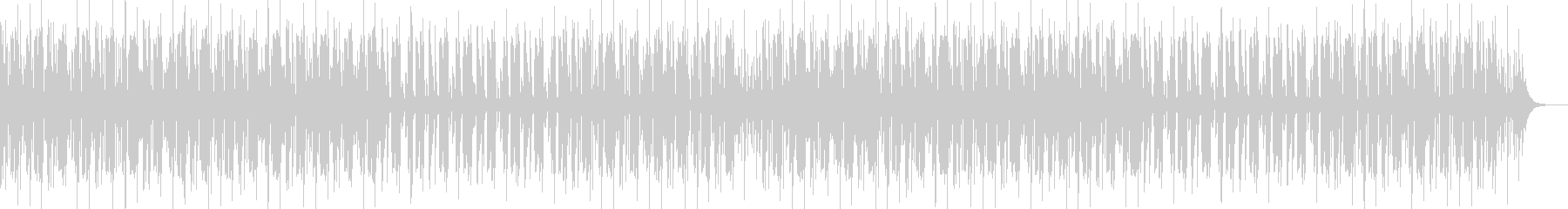 YouTube楽しいエンディングEDMの未再生の波形