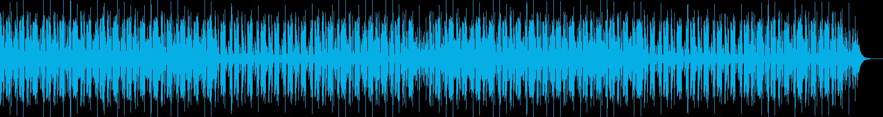 YouTube楽しいエンディングEDMの再生済みの波形