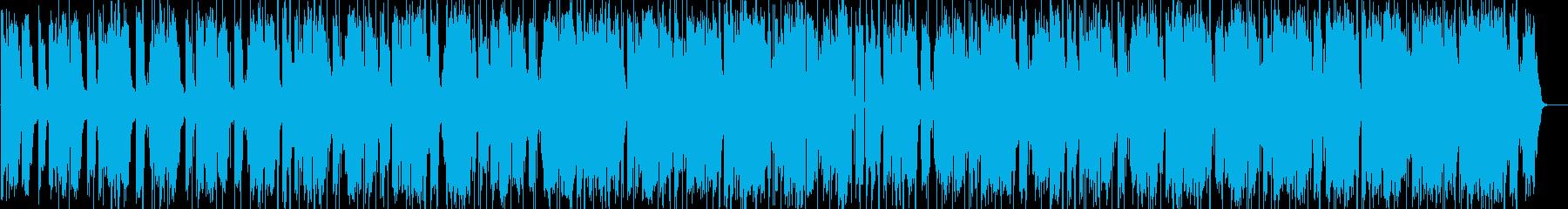 80年代風アーバンサウンドの再生済みの波形