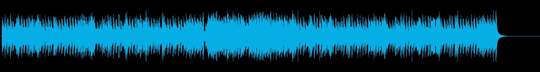 お遊戯風のチャイルド・ミュージックの再生済みの波形
