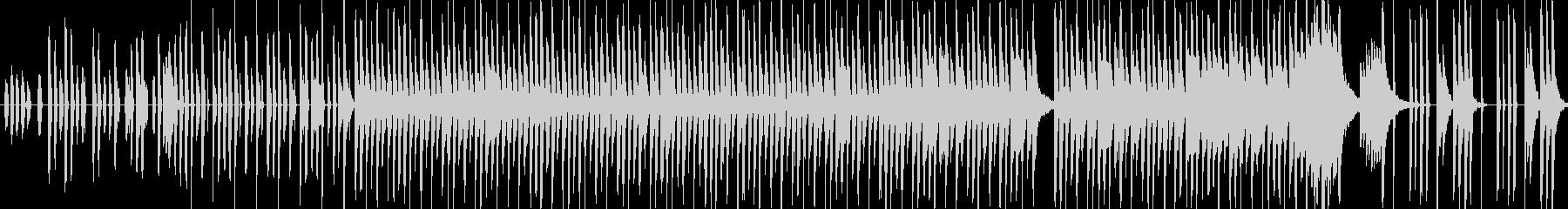 コンピュータゲーム音楽の未再生の波形