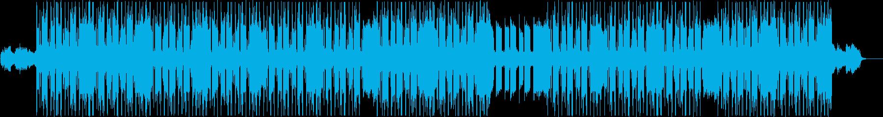 チルアウト、ローファイR&Bトラックの再生済みの波形