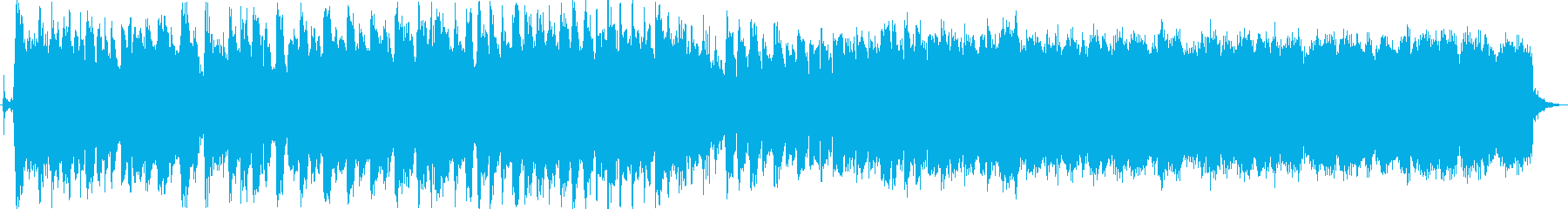 歯車が確かに回り始めたような曲の再生済みの波形