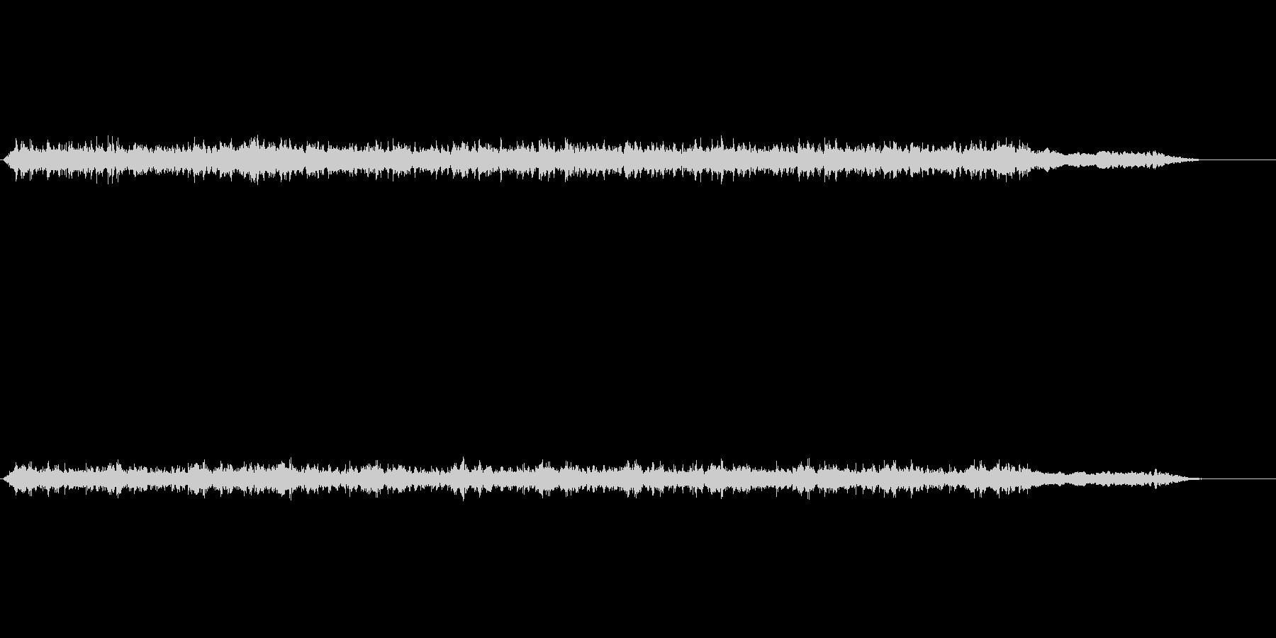音楽;厚い壁を通して男性のボーカル...の未再生の波形