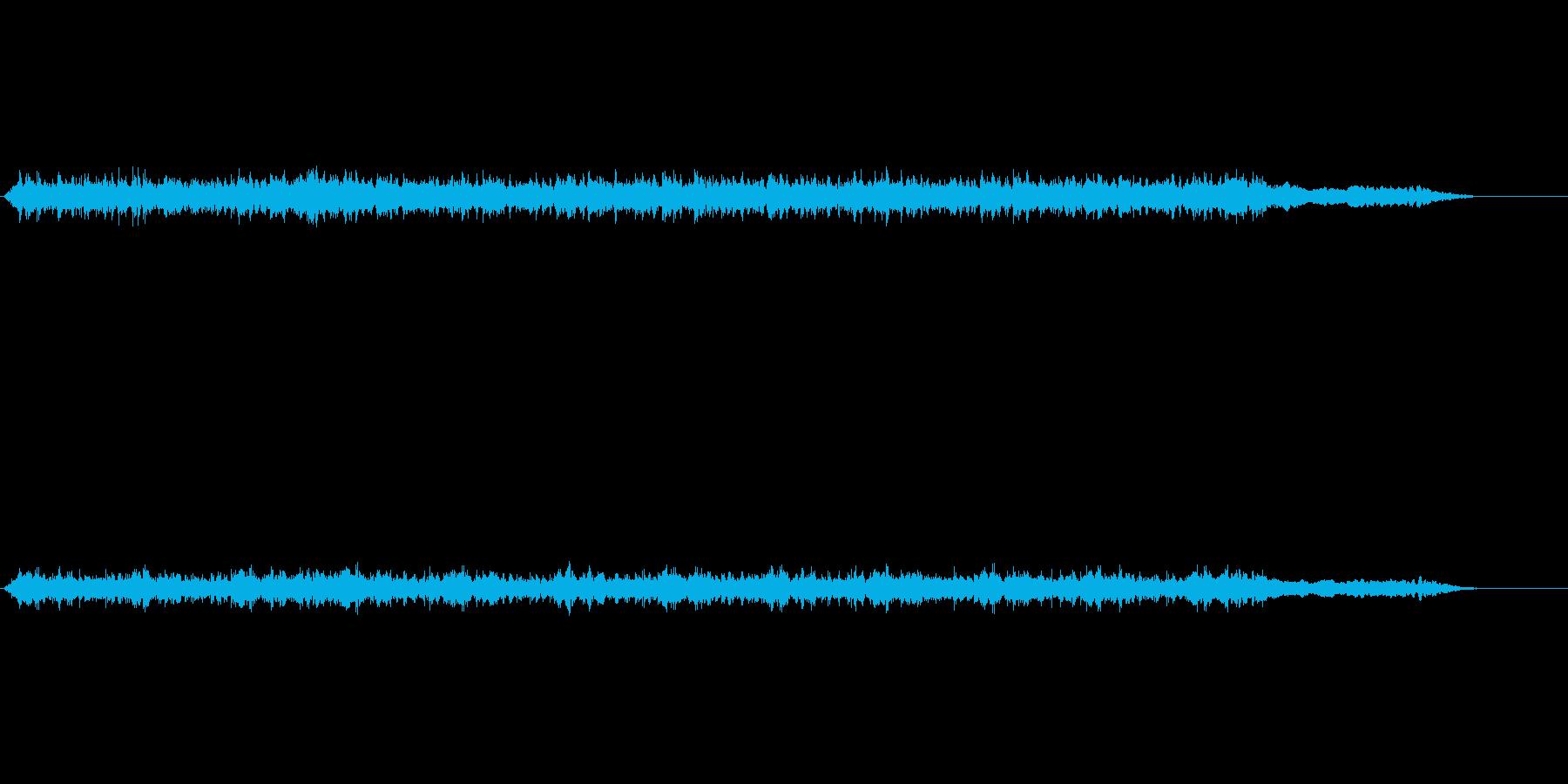 音楽;厚い壁を通して男性のボーカル...の再生済みの波形