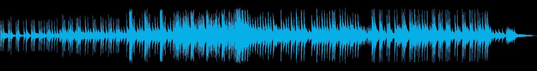ゆったりとしたピアノソロの再生済みの波形