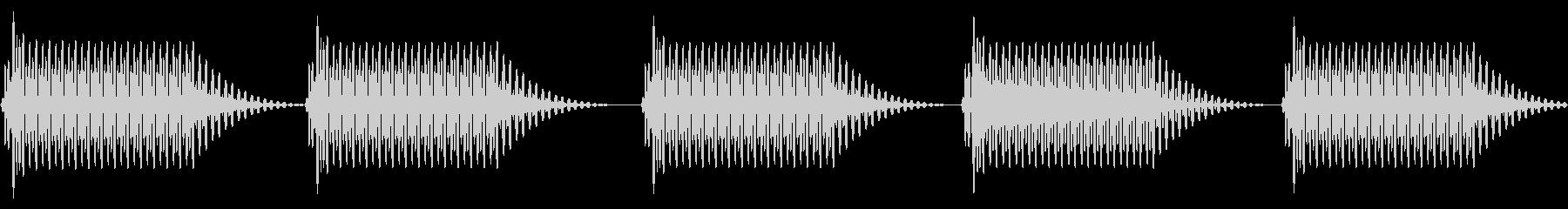 往年のRPG風 セリフ・吹き出し音 2の未再生の波形