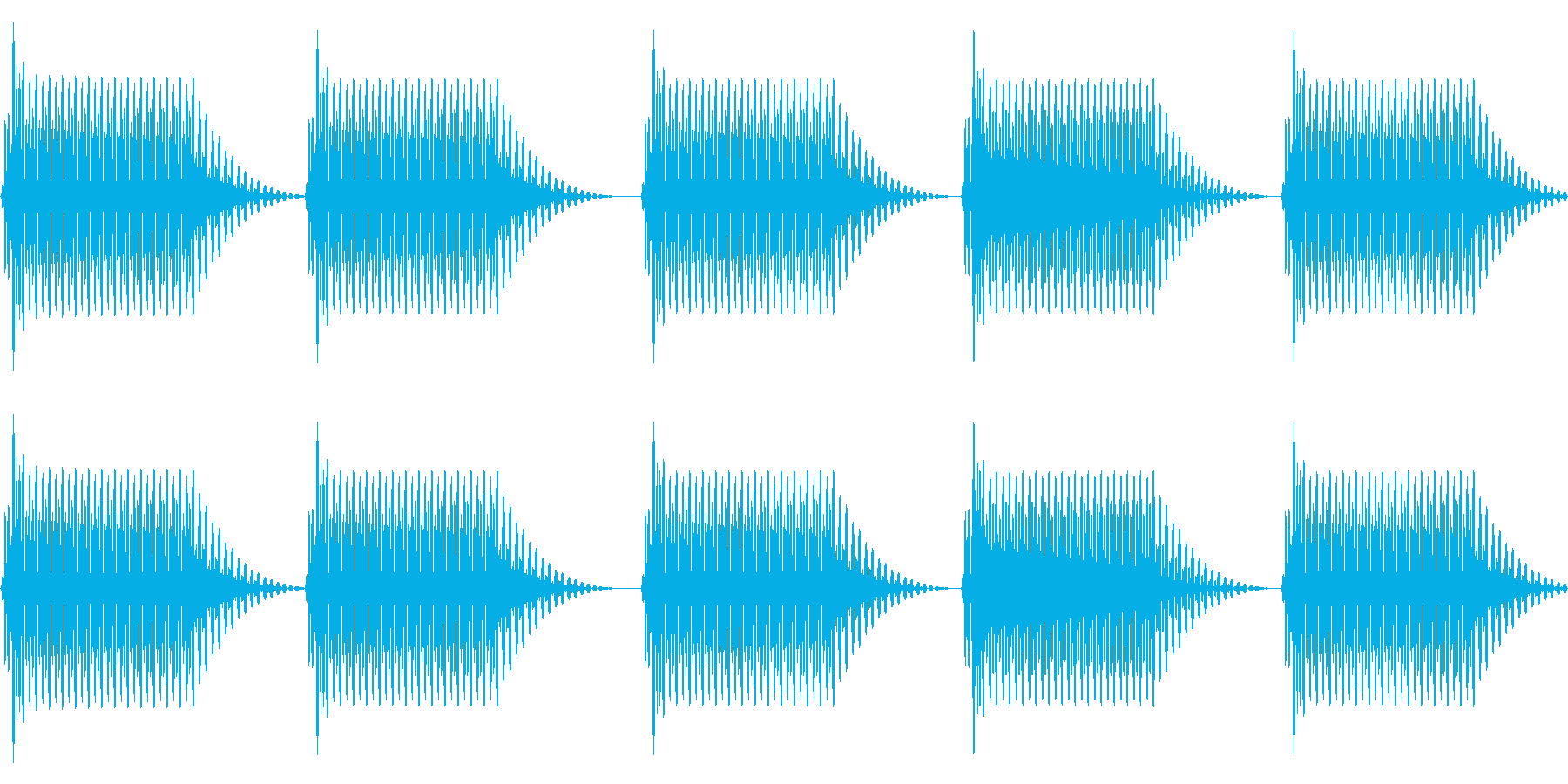 往年のRPG風 セリフ・吹き出し音 2の再生済みの波形