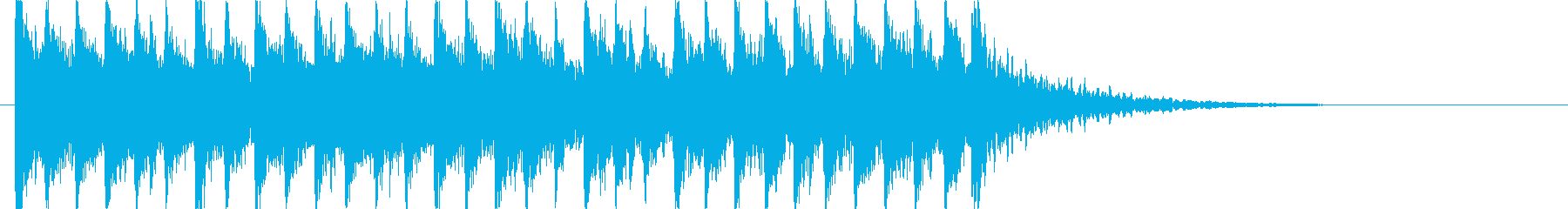 躍動感溢れる和風BGM!!の再生済みの波形