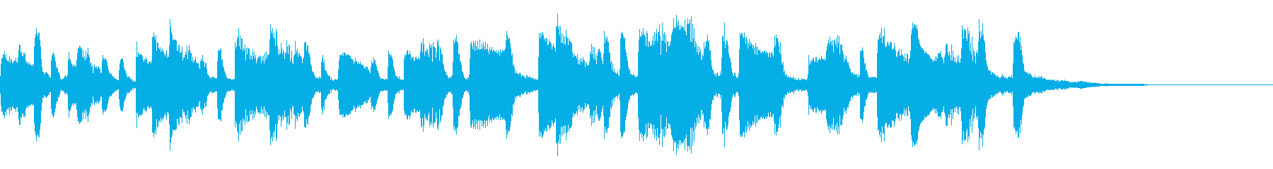 ひょうきんな和風ジングル35-ピアノソロの再生済みの波形