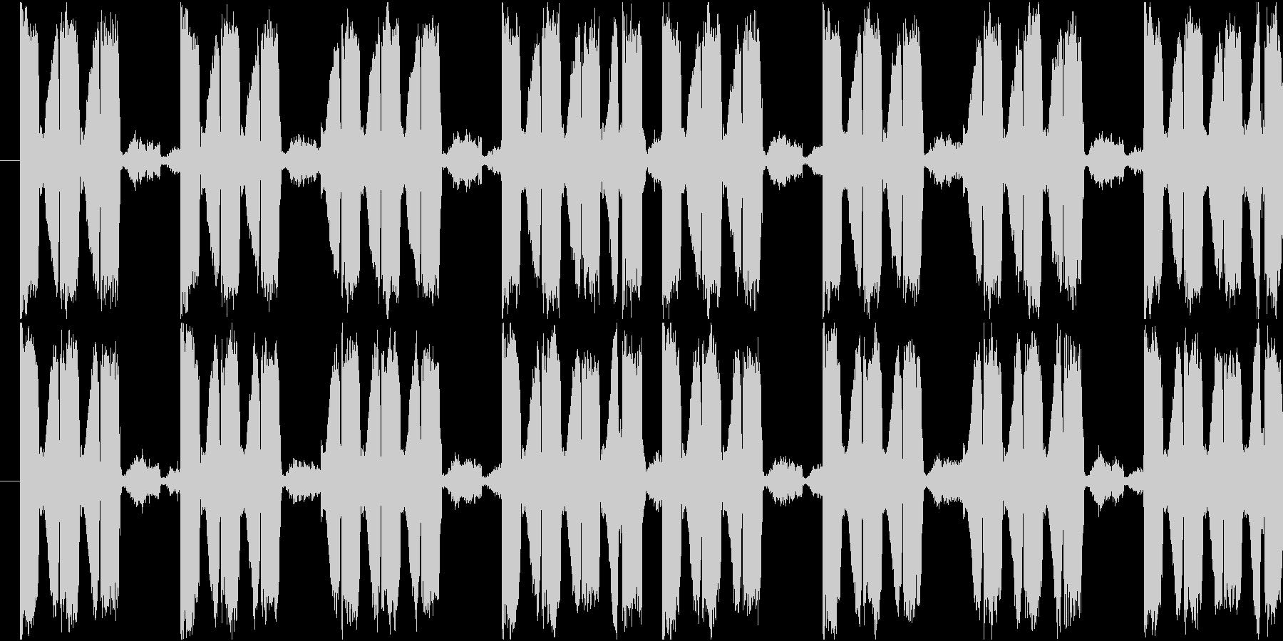 EDMで聞かれる単音フレーズの未再生の波形