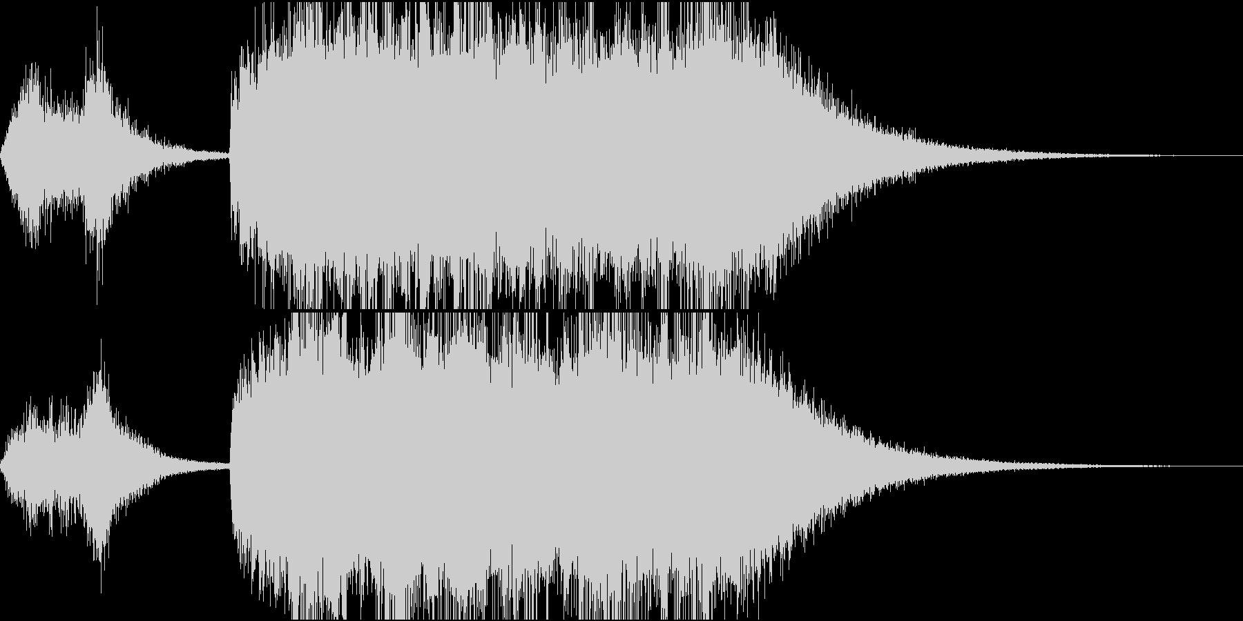 テッテレー!/達成/レベルアップSE3の未再生の波形
