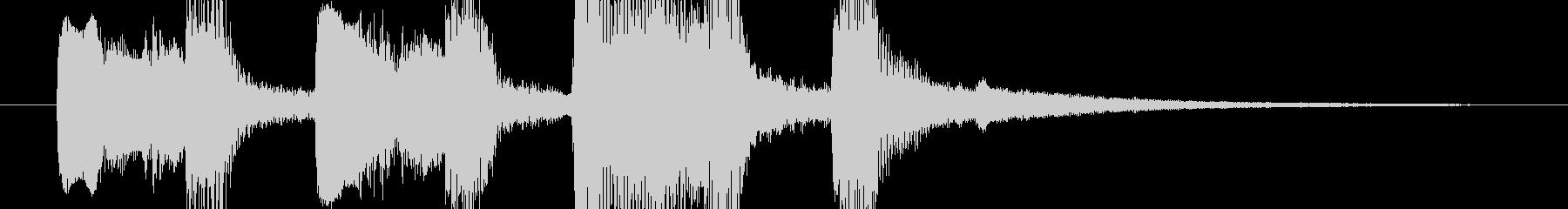 【ジングル】木管ほのぼのかわいい系の未再生の波形