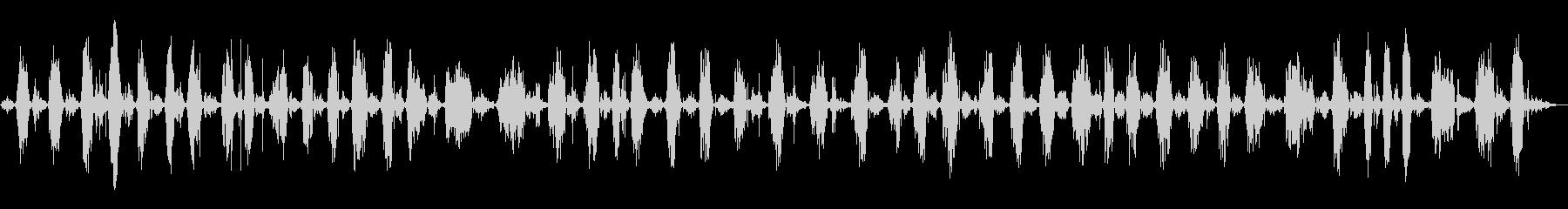 スイープバックとフォースクリーニングの未再生の波形