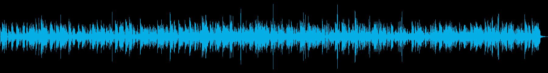 ジャズ|夜に聴きたい哀愁漂うムードBGMの再生済みの波形