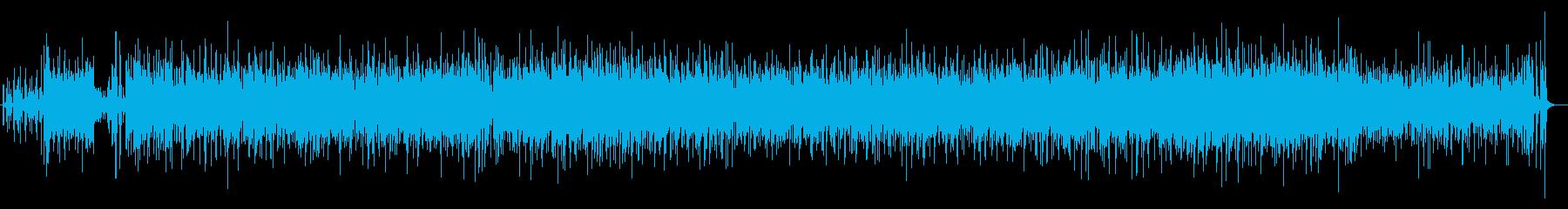 ブライダルに使えるボサノヴァフュージョンの再生済みの波形