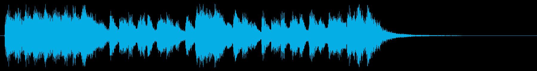 壮大&コミカルなハロウィンオーケストラの再生済みの波形