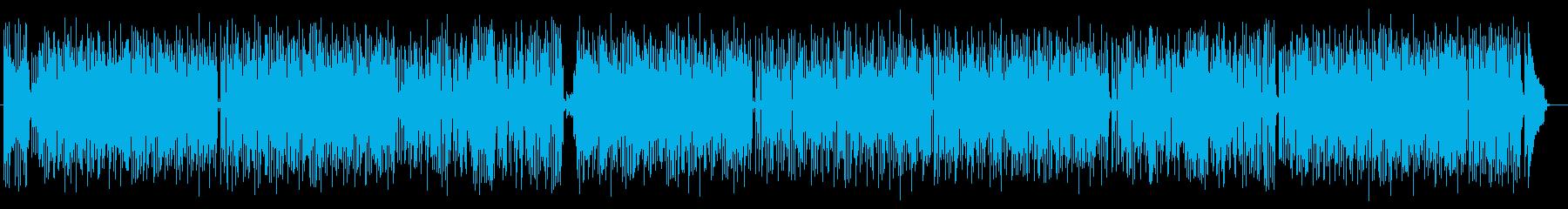 懐メロ風で昭和テイストなポップスの再生済みの波形
