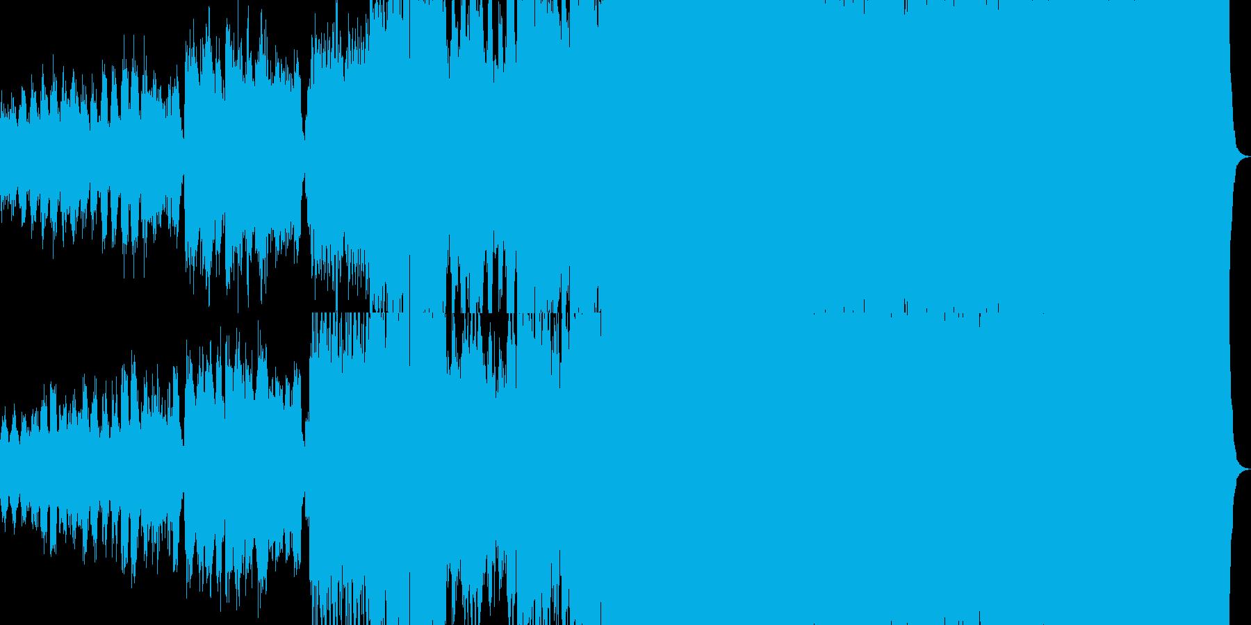 ファンタジー映画楽曲の再生済みの波形