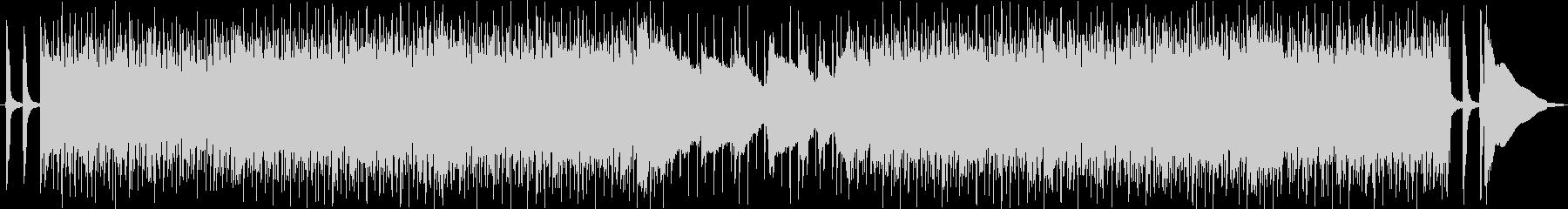 明るく楽しいヴィンテージロカビリー音楽の未再生の波形