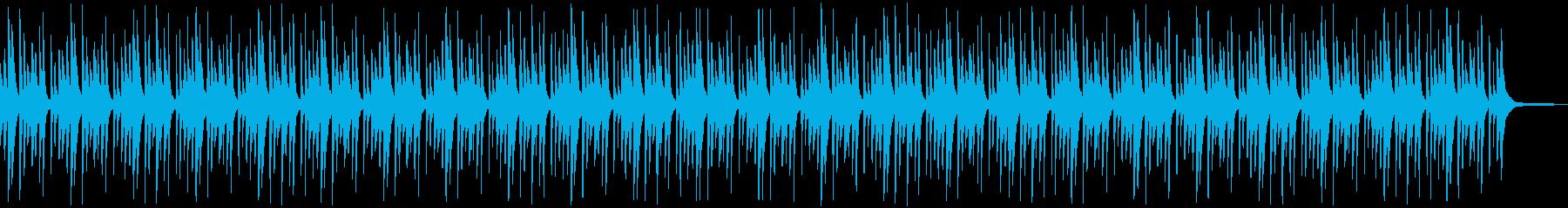 悲しげなピアノアンビエントの再生済みの波形
