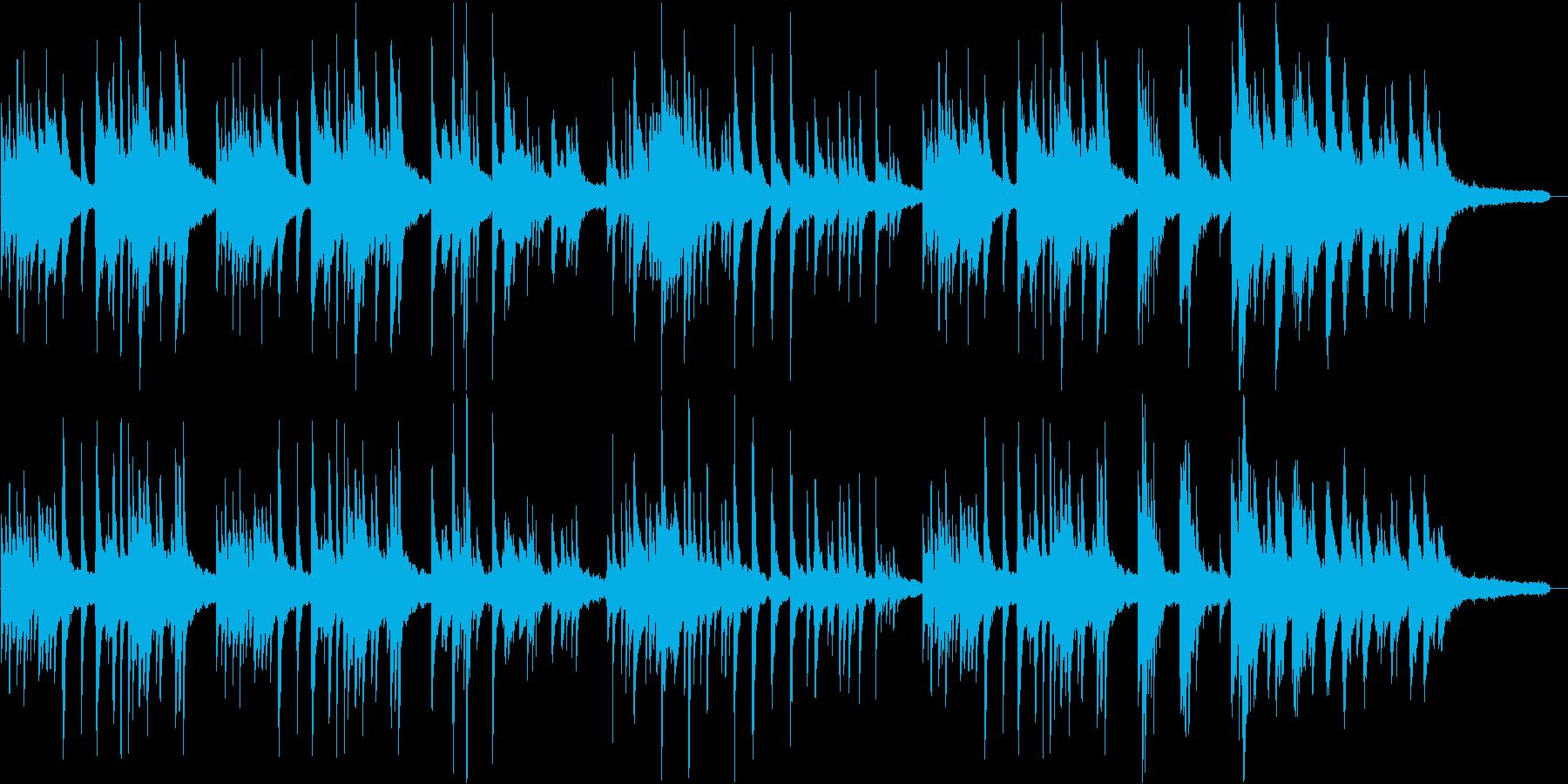 切ない、ピアノソロのバラードの再生済みの波形