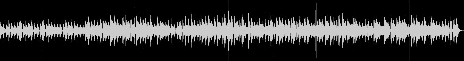 明るく元気なモダンジャズ ピアノの未再生の波形
