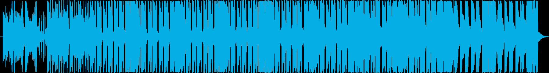 ダンスミュージックでかっこいい曲の再生済みの波形
