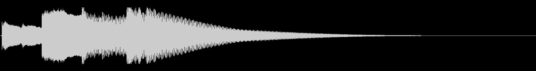 アナウンス後 チャイム-5_rev-2の未再生の波形