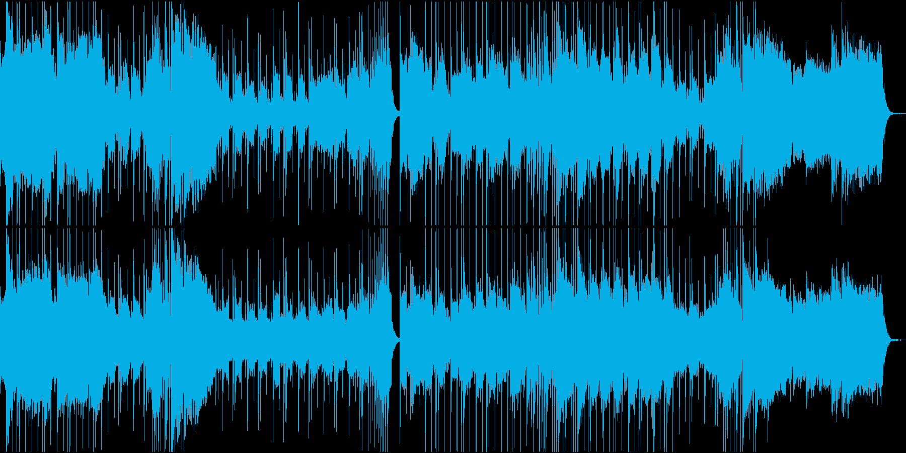 哀愁漂わせる演歌のオケの再生済みの波形
