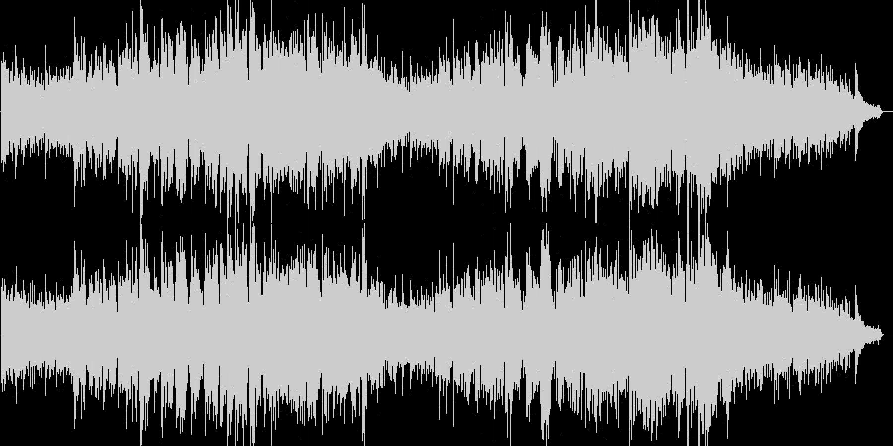 幻想的なエレピ伴奏のバラードの未再生の波形