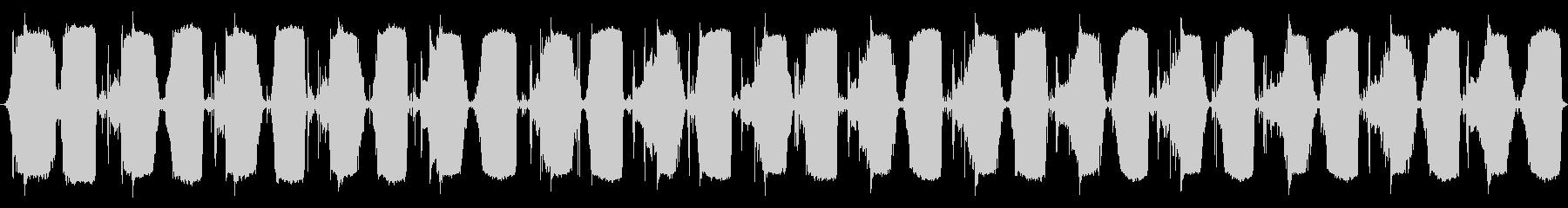 小型ベローズ:一定中速ポンプの未再生の波形
