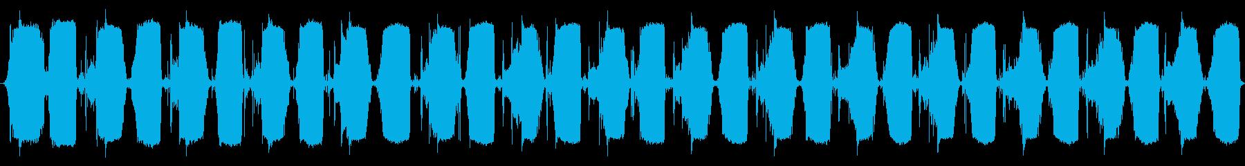 小型ベローズ:一定中速ポンプの再生済みの波形