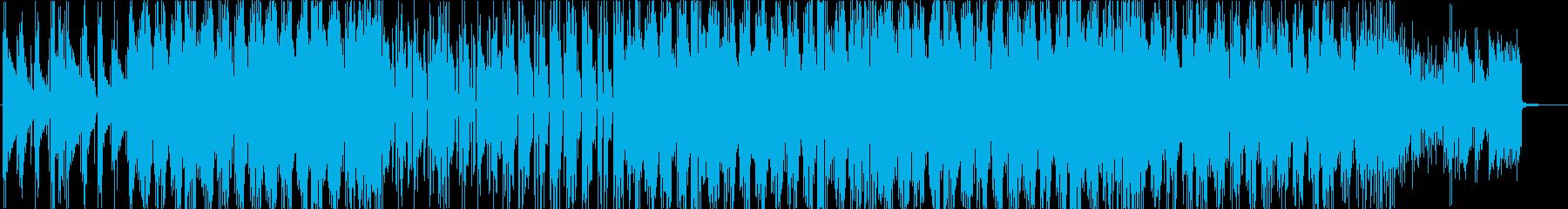アコギのアルペジオが特徴の切ない系BGMの再生済みの波形