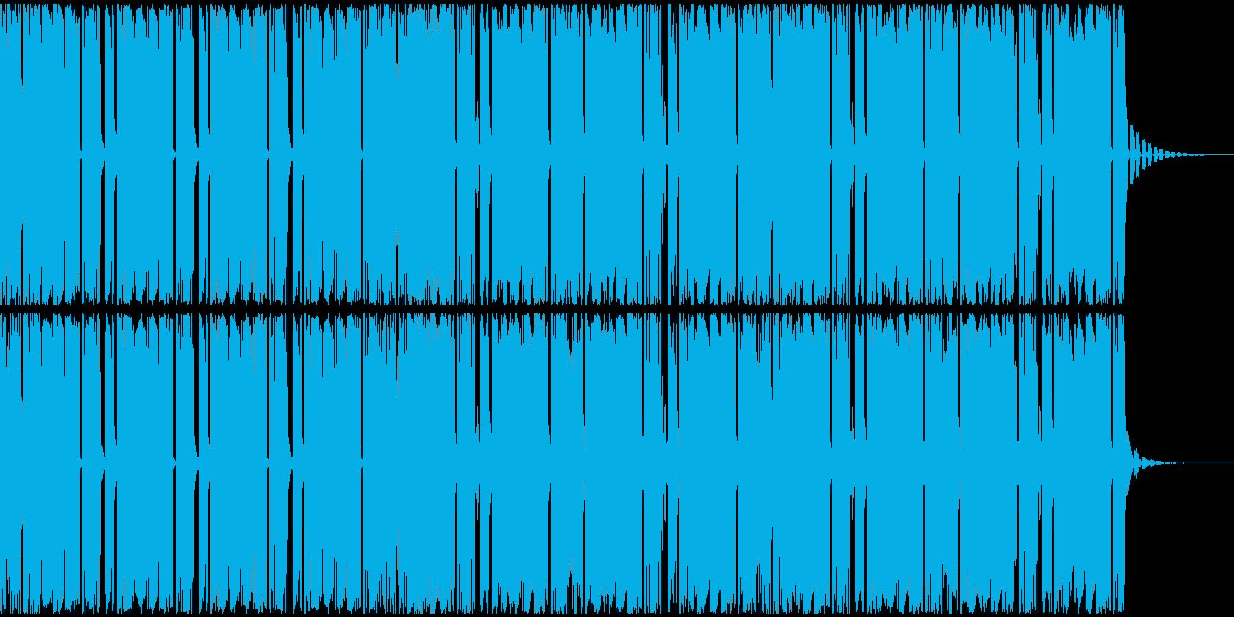 【アンビエント】ロング2、ミディアム2の再生済みの波形