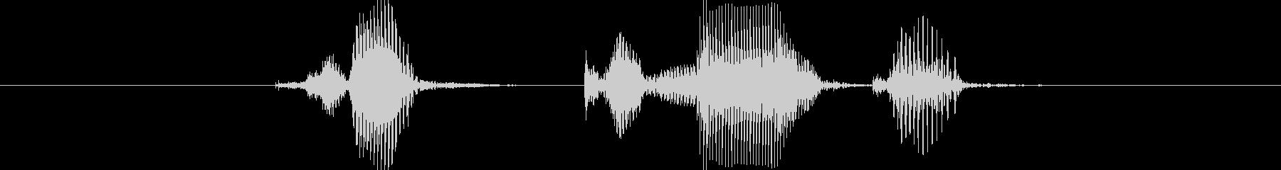 チェックメイト(男の子)の未再生の波形