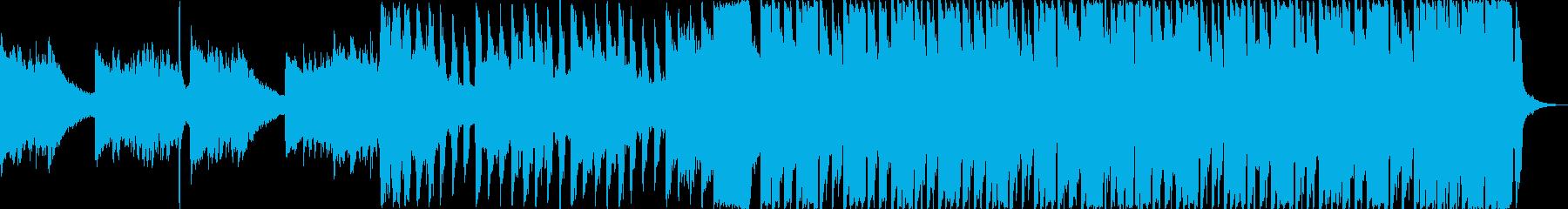 暖かくて夏に合う感動的・ショートverの再生済みの波形