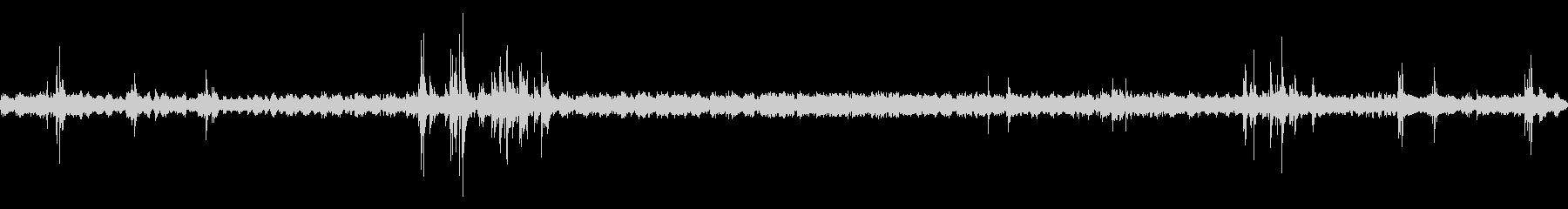 夏の深夜の風鈴と蛙と鳥と虫の音 02の未再生の波形