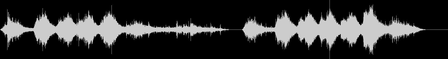 イルカ-屋内プール2の未再生の波形