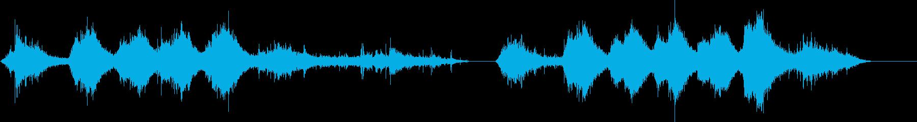 イルカ-屋内プール2の再生済みの波形