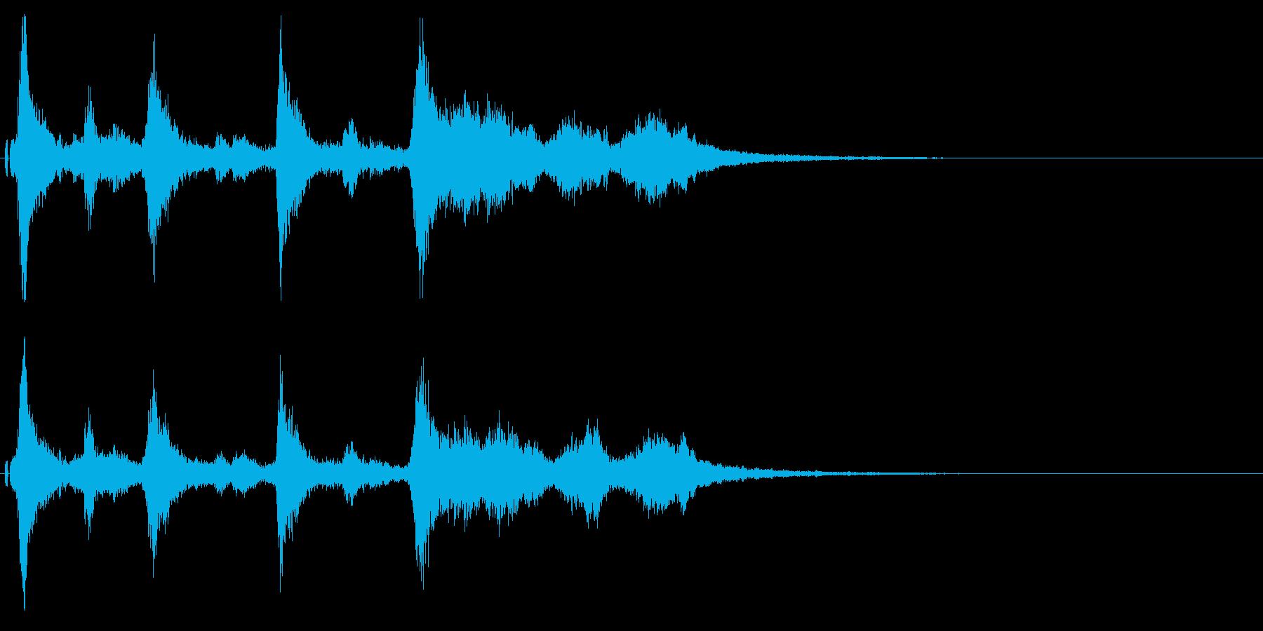 クリスマスのベルとボイスのジングル!13の再生済みの波形