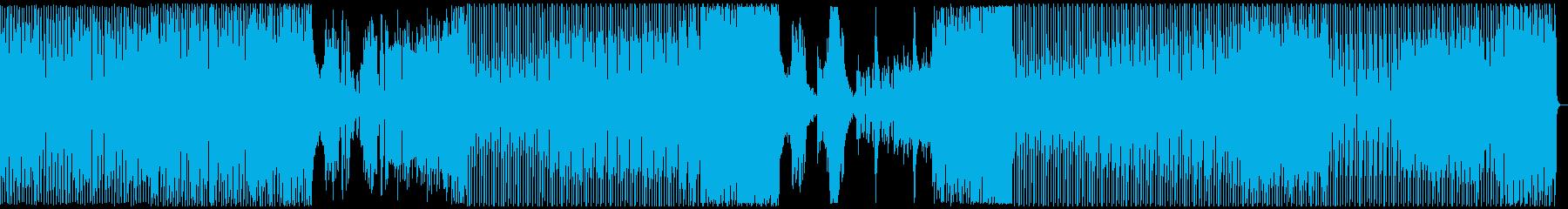 オシャレ・戦闘・スリリングEDM、フルの再生済みの波形